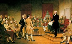 1788: Ratification of the United States Constitution
