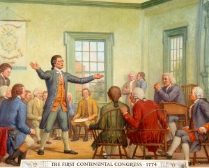 1774: The First Continental Congress