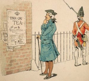1763-1774: Taxation of the Colonies